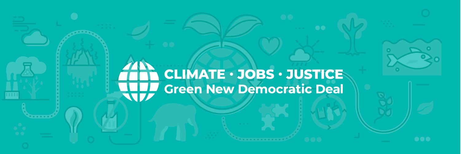 Support Our Green New Democratic Deal