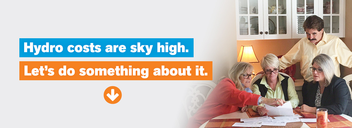 Hydro costs are sky high. Let's do something about it.